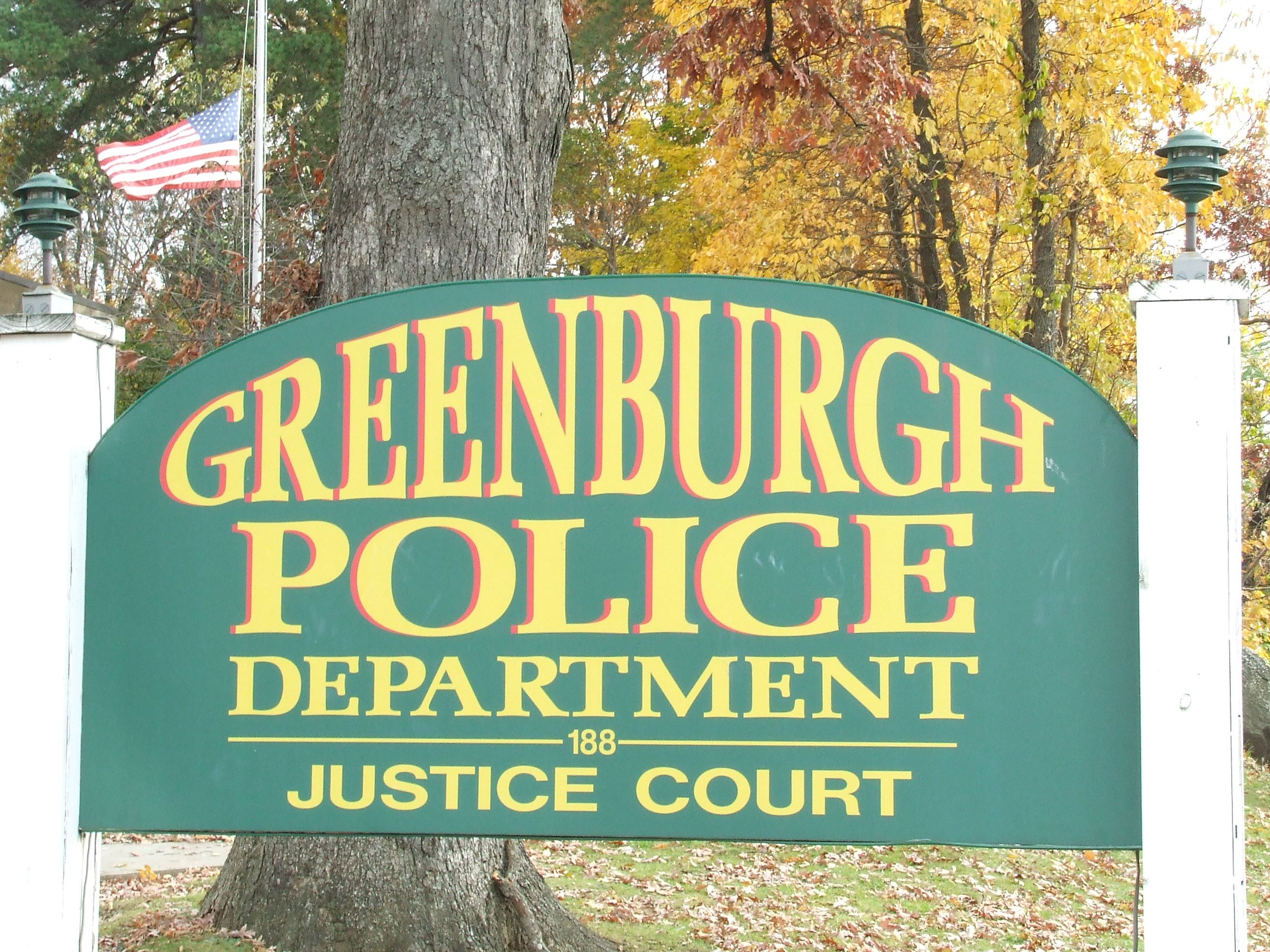 Greenburgh Police Department Sign