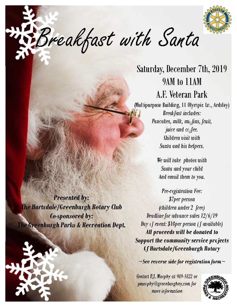 Breakfast with Santa 2019 flyer_Page1